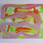 """""""Colori d'estate"""" acrilico su tela (M.F. 2016)"""