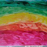 """Arcobaleno"" acrilico su tela M.F.2016"